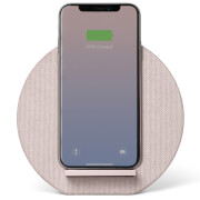 Native Union Dock Wireless Fabric Charger - Rose