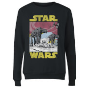 Star Wars ATAT Women's Sweatshirt - Black
