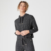 MP Luxe Lounge Hoodie - Black Heather