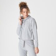 Myprotein Luxe Lounge Hoodie - Grey Marl