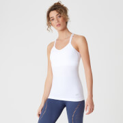 MP Shape Seamless Vest - White