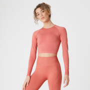 MP Shape Seamless Crop Top - Copper Rose