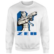 Star Wars Rebels Zeb Pullover - Weiß