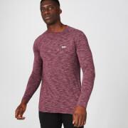 MP Performance Long Sleeve T-Shirt - Burgundy Marl