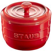 Staub Ceramic Round Salt Crock - Cherry