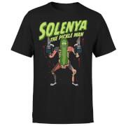 Rick and Morty Solenya Men's T-Shirt - Black