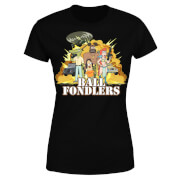 Rick and Morty Ball Fondlers Women's T-Shirt - Black