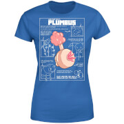 Zavvi Exclusive Rick and Morty Plumbus Women's T-Shirt - Royal Blue