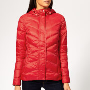 Barbour Women's Seaward Quilted Coat - Coastal Red