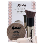 RAWW Lets Face It Mineral Starter Kit (Various Shades) (Worth $49.98)