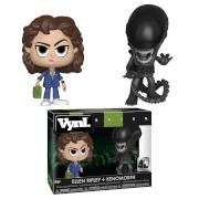 Alien Xenomorph & Ripley Vynl.