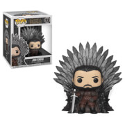 Game of Thrones - Jon Snow sul Trono di Spade LTF Figura Pop! Vinyl Deluxe