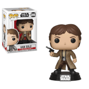 Star Wars - Endor Han Solo Figura Pop! Vinyl
