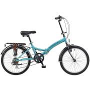 Viking Metropolis 6sp Folding Bike - Aqua 20