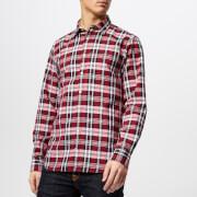 Tommy Hilfiger Men's Oxford Check Shirt - Goji Berry/Multi