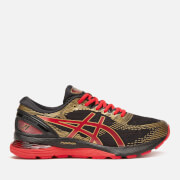 Asics Men's Running Gel-Nimbus 21 Trainers - Black/Classic Red