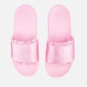Puma Women's Popcat Silk Slide Sandals - Pale Pink/Pale Pink