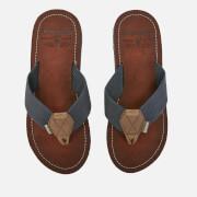 Barbour Men's Toeman Beach Toe Post Sandals - Navy