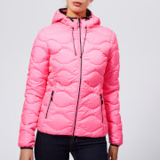Superdry Women's Astrae Quilt Padded Jacket - Fluro Pink