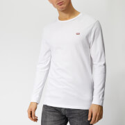 Levi's Men's Long Sleeve Original HM T-Shirt - White