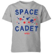NASA Space Cadets Galaxy Kids' T-Shirt - Grey