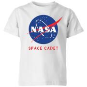 NASA Space Cadets Logo Kids' T-Shirt - White