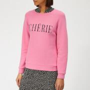 Whistles Women's Cherie Embroidered Sweatshirt - Pink
