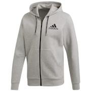 adidas Men's Doubleknit Logo Hoody - Grey