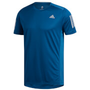 adidas Men's Own the Run T-Shirt - Legend Marine