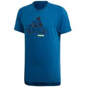 adidas Men's Badge T-Shirt - Legend Marine