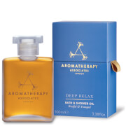 Aromatherapy Associates Deep Relax Bath & Shower Oil 100ml (Worth £89)