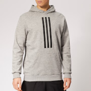 adidas Men's ID Heavy Terry Hoody - Grey Heather
