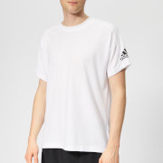 adidas Men's ID Stadium Short Sleeve T-Shirt - White