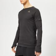 adidas Men's Supernova Run Crew Neck Top - Black