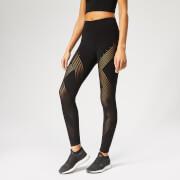 adidas Women's Warp Knitted Tights - Black