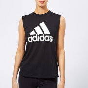 adidas Women's MH BOS Tank Top - Black