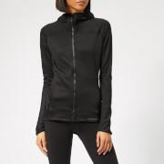 adidas Women's Trace Rocker Hooded Fleece Jacket - Black