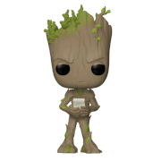 Marvel - Avengers: Infinity War Groot with Game EXC Pop! Vinyl Figure