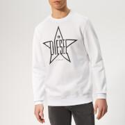 Diesel Men's Gir Sweatshirt - White
