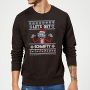 Rick and Morty Lets Get Schwifty Christmas Sweatshirt - Black