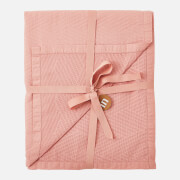 in homeware Chevron Matelassé Throw Blanket - Blush