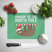 Hangin' At The North Pole Chopping Board
