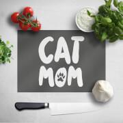 Cat Mom Chopping Board