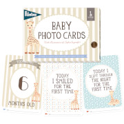 Sophie la Girafe Milestone Baby Photo Cards