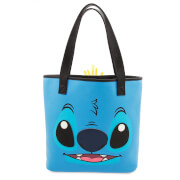 Loungefly Lilo and Stitch Two-Face Stitch and Scrump Tote Bag
