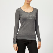 Guess Women's Long Sleeve Emily Jumper - Medium Charcoal