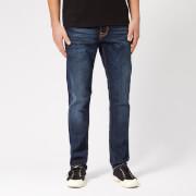 Nudie Jeans Men's Lean Dean Tapered Jeans - Dark Deep Worn