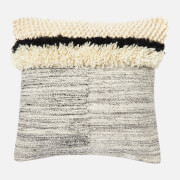 in homeware Textured Cushion - Grey and Black