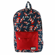Loungefly Dr. Seuss Cat in the Hat Nylon Backpack