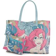 Loungefly Disney The Little Mermaid Ariel Leaves Tote Bag